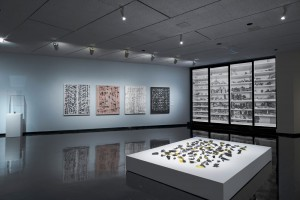 """Looking Up: Contemporary Connections with Inuit Art"" (installation view) at the Winnipeg Art Gallery. Photo: Ernest Mayer, Winnipeg Art Gallery."